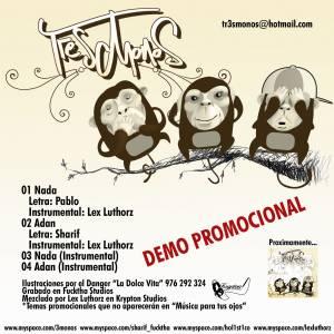 Descarga la maqueta de Hip hop de Tr3s Monos: Demo 2006
