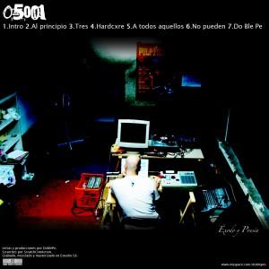 Trasera: 05001 - Exodo y poesia