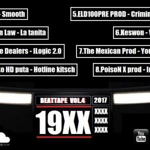 Trasera: 19XX - Beattape Vol. 4 (Instrumentales)