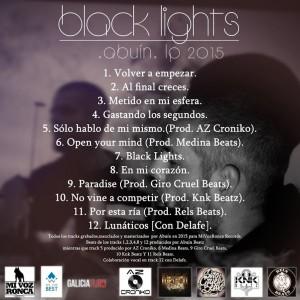 Trasera: Abuin - Black lights
