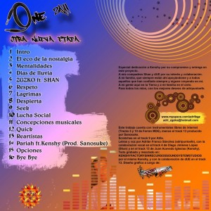 Trasera: Adripuntoefe - One 2011 otra nueva etapa