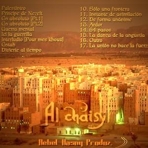 Trasera: Al Chaisy - Príncipe de Nezelt
