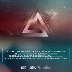 Trasera: Alex Orellana y Jayder - Feeling jacked