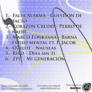 Trasera: Am6 - Sexto sentido Vol. 1