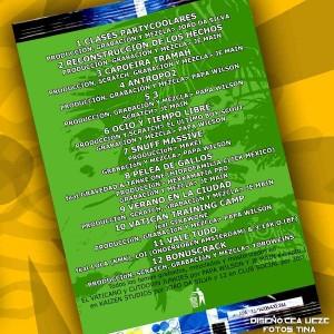 Trasera: Anorexpsyko y lunes - Capoeira