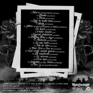 Trasera: Antuan - La muerte