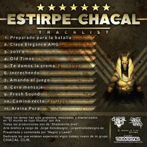Trasera: Are - Estirpe chacal