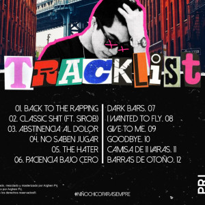 Trasera: Arghen PRJ - Back To The Rapping
