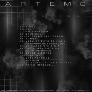 Trasera: Arte MC - The storm