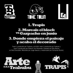 Trasera: Arte - Trapis