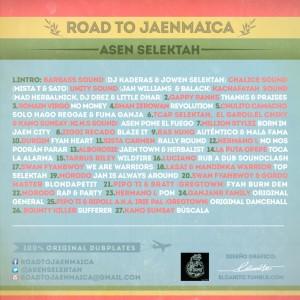 Trasera: Asen Selektah - Road To Jaenmaica