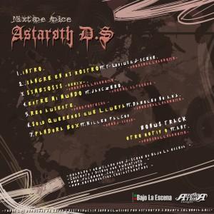 Trasera: Astaroth DS - Mixtape apice