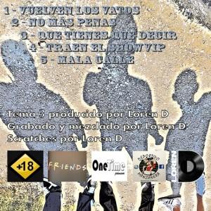 Trasera: Audiomorbo - Mala calle