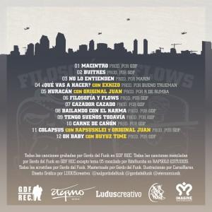 Trasera: Axl y Gordo del Funk - Filosofía y flows
