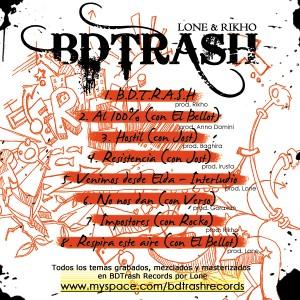 Deltantera: BDTrash - B.D.T.R.A.S.H