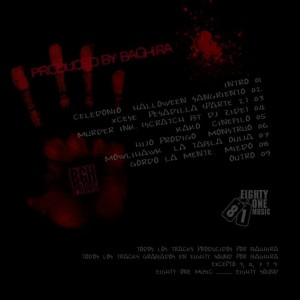Trasera: Baghira - Bloody Halloween