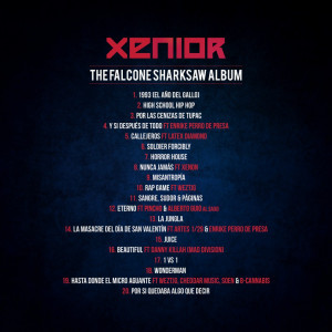 Trasera: Baghira y Xenior - The Falcone Sharksaw Album