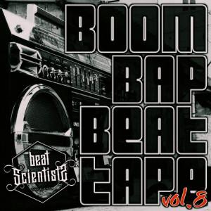 Deltantera: Beat scientist - Beattape Vol. 8 - Boom Bap Beattape (Instrumentales)