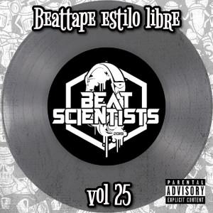 Deltantera: Beatscientist - Beattape Vol 25 - Estilo libre (Instrumentales)