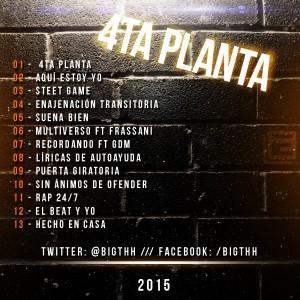Trasera: Big T - 4ta Planta