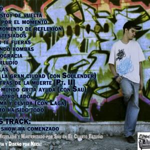 Trasera: Bk - Rap por el momento