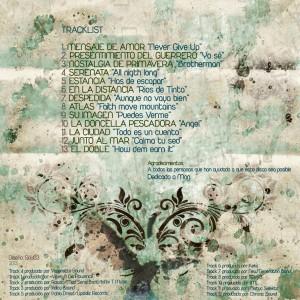 Trasera: Bman Zerowan - El canto del cisne