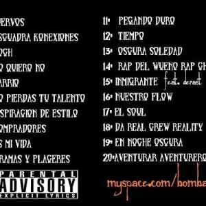 Trasera: Bomba rap - Underground