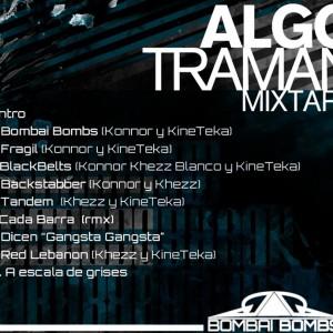 Trasera: Bombai bombs - Algo traman mixtape