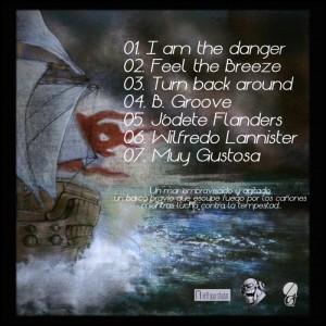 Trasera: Borde - Esencia de corsario Vol. 1 (Instrumentales)