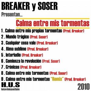 Deltantera: Breaker y Soser - Calma entre mis tormentas