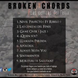 Trasera: Broken Chords - Las cenizas del fénix