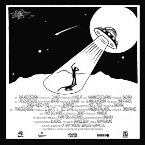 Trasera: Buse Spencer - Paraíso oscuro