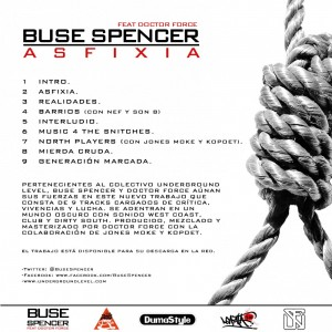 Trasera: Buse Spencer y Doctor Force - Asfixia