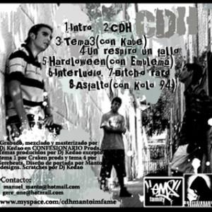 Trasera: CDH - Claramente dependemos del hip-hop