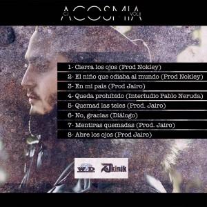 Trasera: CJ - Acosmia Vol. II