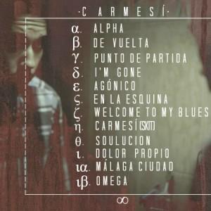 Trasera: Cano - Carmesí
