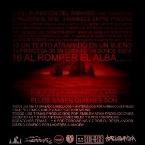 Trasera: Carlos Emblematika - Desde el exilio