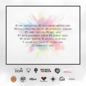 Trasera: Challenger - One (Instrumentales)