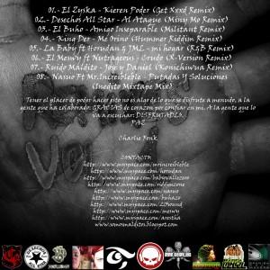 Trasera: Charlie fonk - Remixes Vol. 1