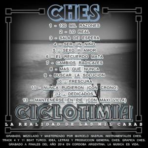 Trasera: Ches - Ciclotimia