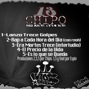 Trasera: Chipo - Tr3c3