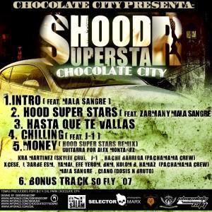 Trasera: Chocolate City - Hood superstars