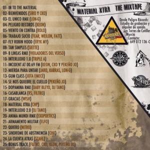 Trasera: Ckone - Material xtra (The mixtape)
