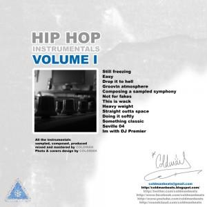 Trasera: Coldman Beats - Hip Hop Instrumentals Vol. 1