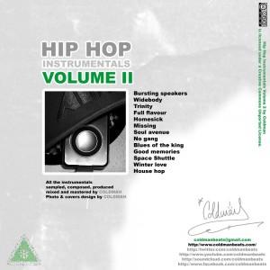 Trasera: Coldman Beats - Hip Hop Instrumentals Vol. 2