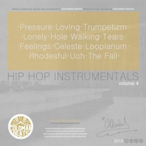 Trasera: Coldman Beats - Hip Hop Instrumentals Vol. 4