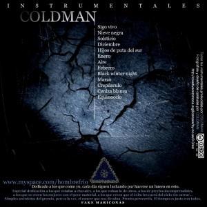 Trasera: Coldman Beats - Winter comes back (Instrumentales)