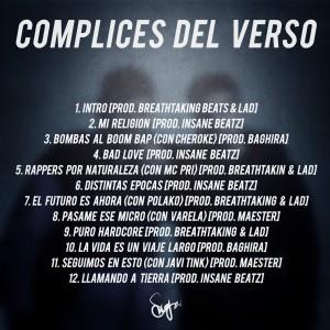 Trasera: Cómplices del verso - Rap not dead