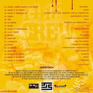 Trasera: Contacto táctico - La 14-15 Mixtape