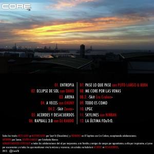 Trasera: Core T.B. - Acordes y Desacuerdos